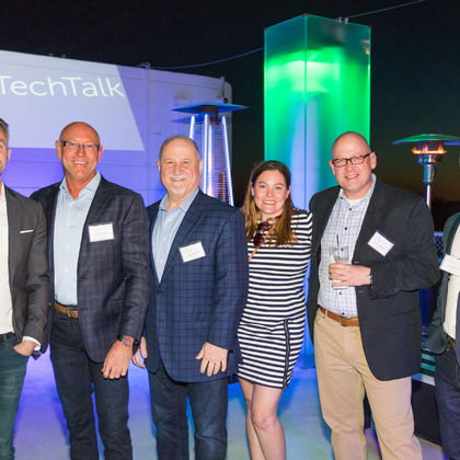 A successful first #SprinklrTechTalk LA event for the Sprinklr team